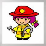 Firegirl Posters
