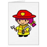 Firegirl Tarjetas
