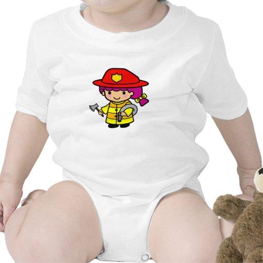 Firegirl Traje De Bebé