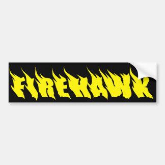 """""""Firehawk"""" Bumper Sticker"""