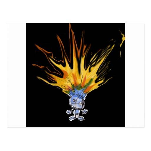 Firehead Bot Postcard