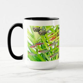 Firehead tetras mug