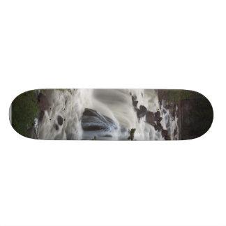 Firehole Falls At Dusk Skate Board