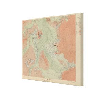 Firehole Geyser Basin Canvas Print
