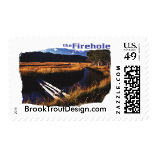Firehole River Postage