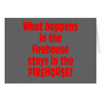 Firehouse Greeting Cards