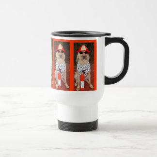 Firehouse Dog Travel Mug