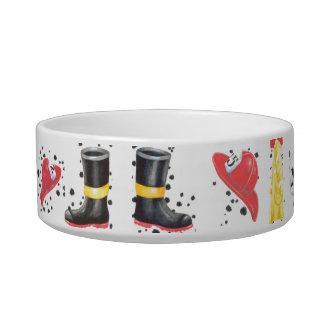 Firehouse Gear Dog or Cat Dish