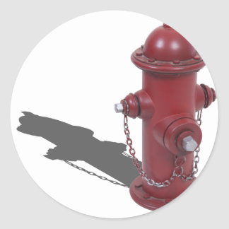 FireHydrant050512.png Classic Round Sticker