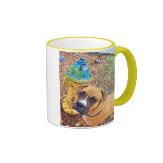 Firehydrant Friend Mug