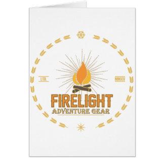Firelight - Adventure Gear Card