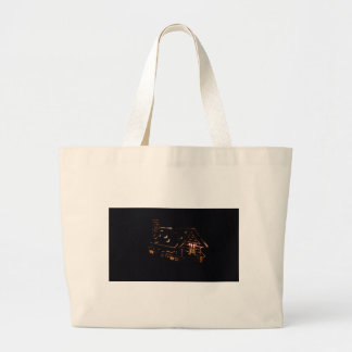 FIRELIGHT CABIN LARGE TOTE BAG