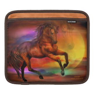 Firelite Horse Art iPad Sleeve
