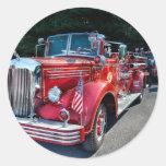 Fireman - 1949 and it still runs sticker