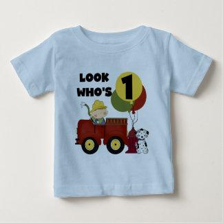 Fireman 1st Birthday Tshirts and Gifts
