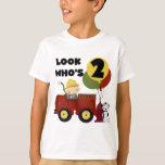 Fireman 2nd Birthday Tshirts and Gifts
