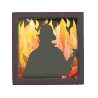 fireman-38083  fireman fire cartoon axe save helme premium jewelry box