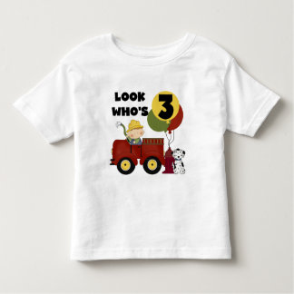 Fireman 3rd Birthday T-shirts and Gifts