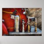 Fireman - An Assortment of Nozzles Poster