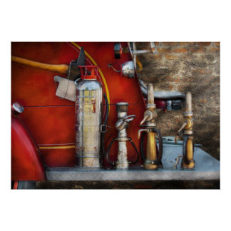 Fireman - An Assortment of Nozzles Posters