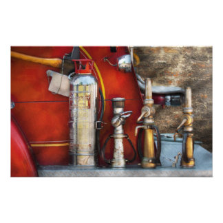 Fireman - An Assortment of Nozzles Stationery Design