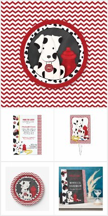 Fireman Baby Party Collections