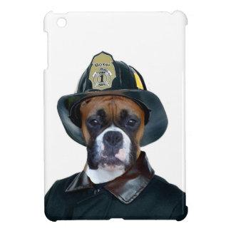Fireman Boxer Dog Cover For The iPad Mini