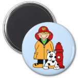 Fireman (Boy) Magnets