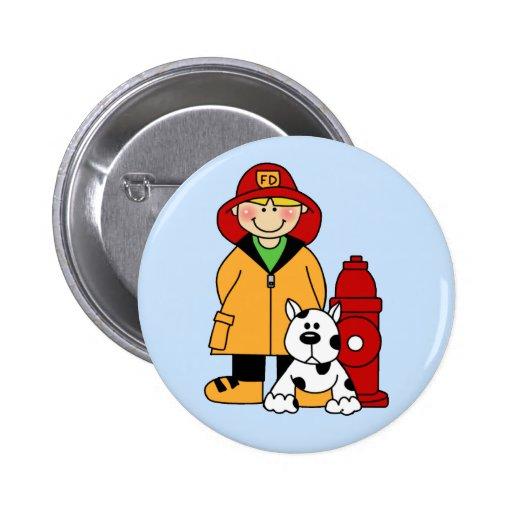 Fireman (Boy) Pins