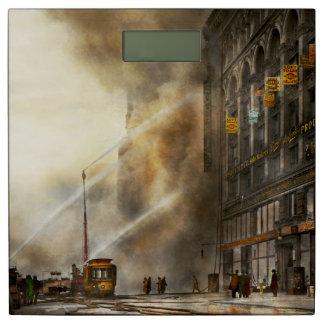 Fireman - Brooklyn NY - Surprise 1909 Bathroom Scale