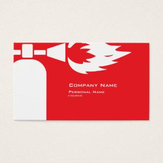 Fireman Business Card