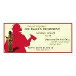 Fireman Custom Retirement Party Invitations