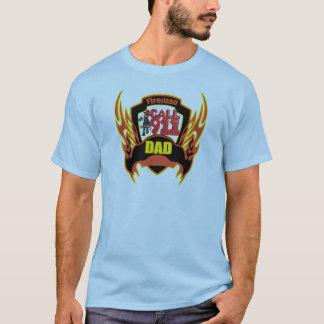 Fireman Dad Fathers Day Gifts T-Shirt