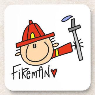 Fireman Drink Coaster