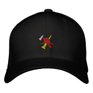 Fireman Embroidered Hat