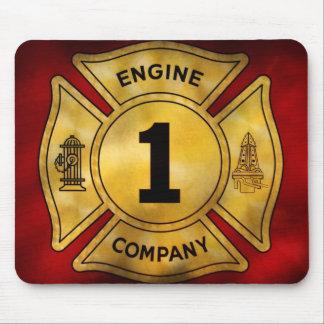 Fireman - Engine Company 1 Mousepads