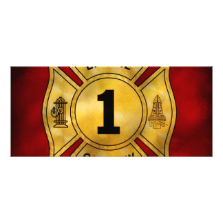 Fireman - Engine Company 1 Custom Rack Cards