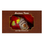 Fireman - Everyone loves red Business Card Template