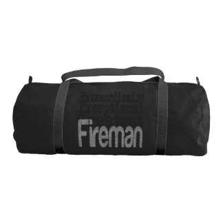 Fireman Extraordinaire Gym Bag