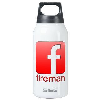 Fireman Facebook logo template Thermos Bottle