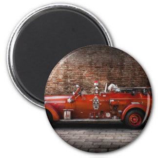 Fireman - FGP Engine No2 2 Inch Round Magnet