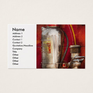 Fireman - Fighting Fires Business Card