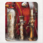 Fireman - Fighting Fires Mouse Pad