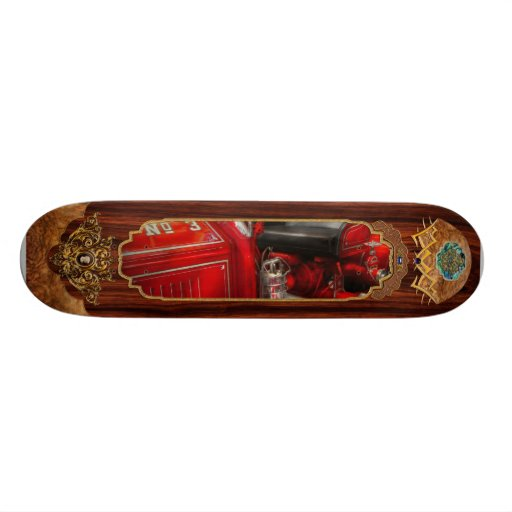Fireman - Fire Engine No 3 Skate Boards