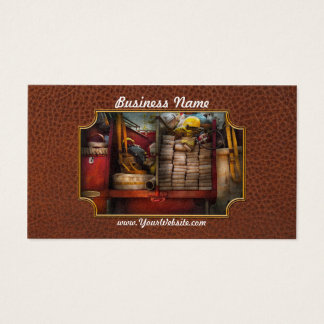 Fireman - Fire equipment Business Card