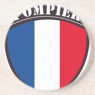 fireman France Drink Coaster