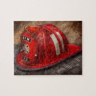 Fireman - Hat - A childhood dream Jigsaw Puzzle