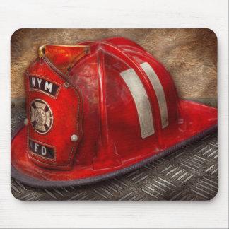 Fireman - Hat - A childhood dream Mouse Pad