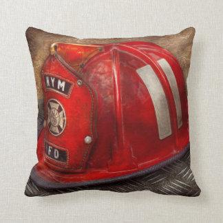 Fireman - Hat - A childhood dream Throw Pillow