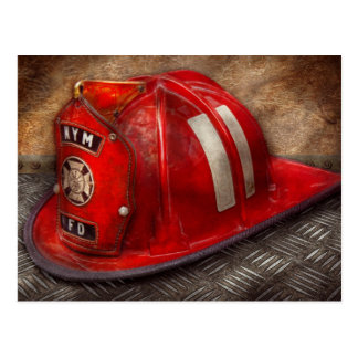 Fireman - Hat - A childhood dream Postcard